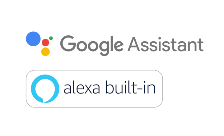 Google Assistant & Alexa built-in logos