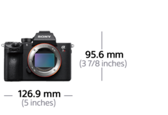Picture of α7R III 35mm full-frame camera with autofocus