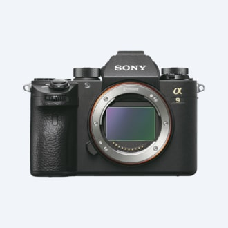 Picture of α9 featuring full-frame stacked CMOS sensor