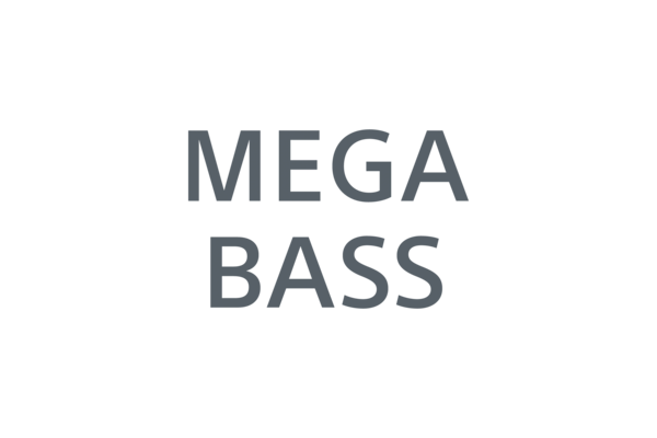 Icon of MEGA BASS logo.