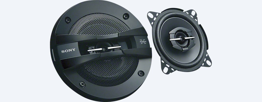 "Images of 10cm (3.9"") 3-Way Coaxial Speakers"