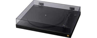 Images of Turntable with High-Resolution Audio ripping capability
