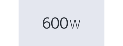 600w power icon