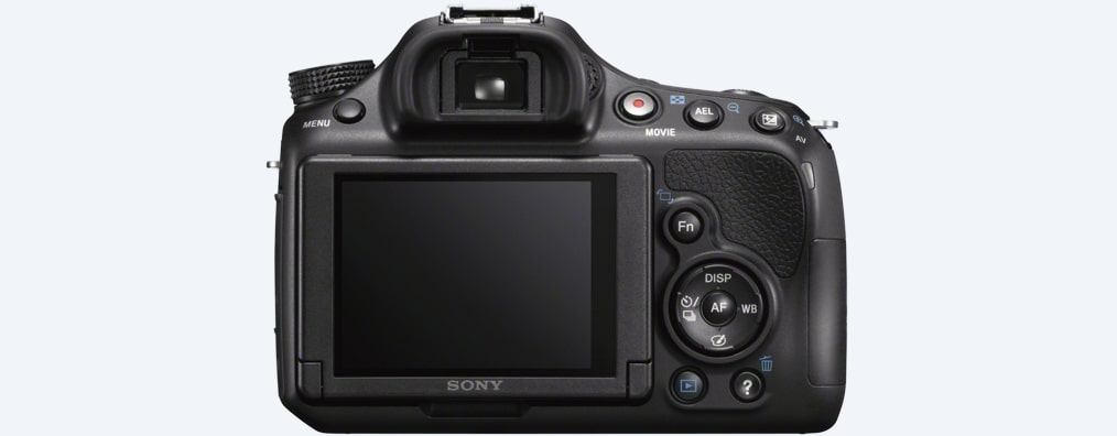 Images of α58 A-mount Camera with APS-C Sensor