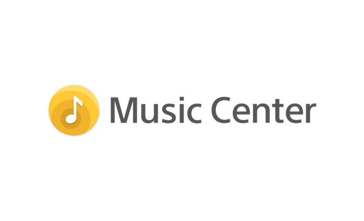 The Sony Music Center logo.