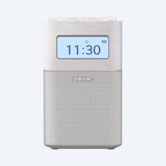 Picture of Portable Clock Radio with Bluetooth
