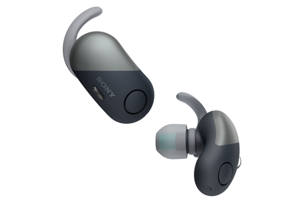 WF-SP700N with Digital Noise Cancelling and Ambient Sound Mode