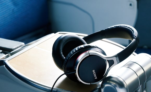Sony's noise-cancelling headphones