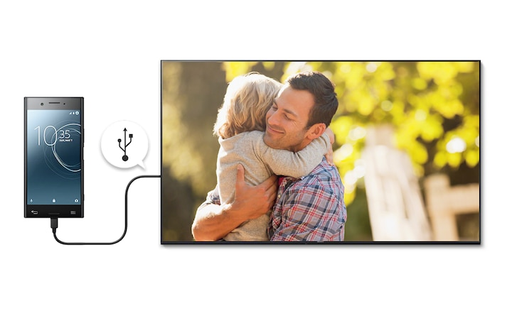 Sharing special moments from your smartphone on your TV