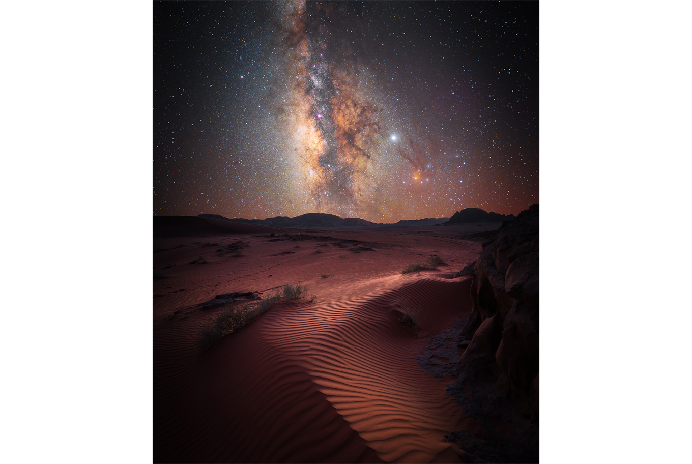 Stefan Liebermann sony alpha 7m3 milky way above the desert