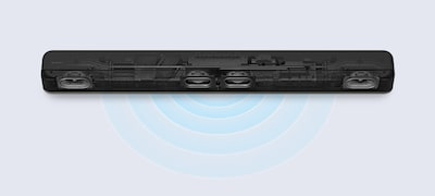 Picture of 2.1ch Dolby Atmos®/DTS:X® Single Sound Bar with built-in subwoofer | HT-X8500