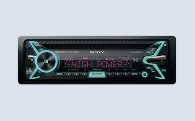 Image of Sony smartphone-controlled in-car receiver and player