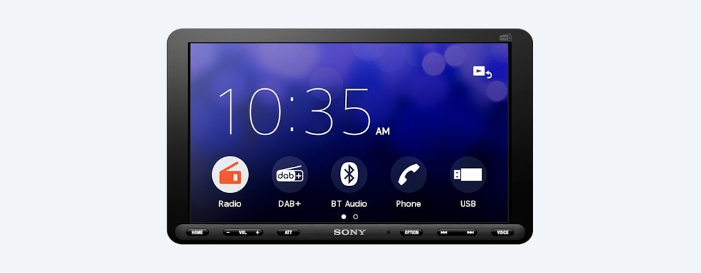 "Images of 22.7 cm (8.95"") DAB Media Receiver with Bluetooth®"
