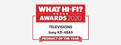 WHAT HI-FI TV 2020 Award logo
