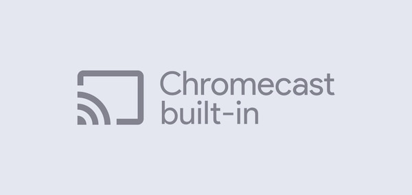 Chromecast built-in logo