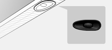 Image showing location detail of X-balanced speaker™