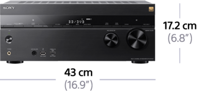 Picture of 7.2ch Home Theatre AV Receiver | STR-DN1060