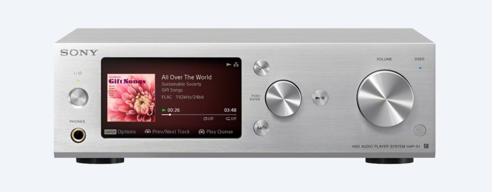 Images of High-Resolution Audio Player System