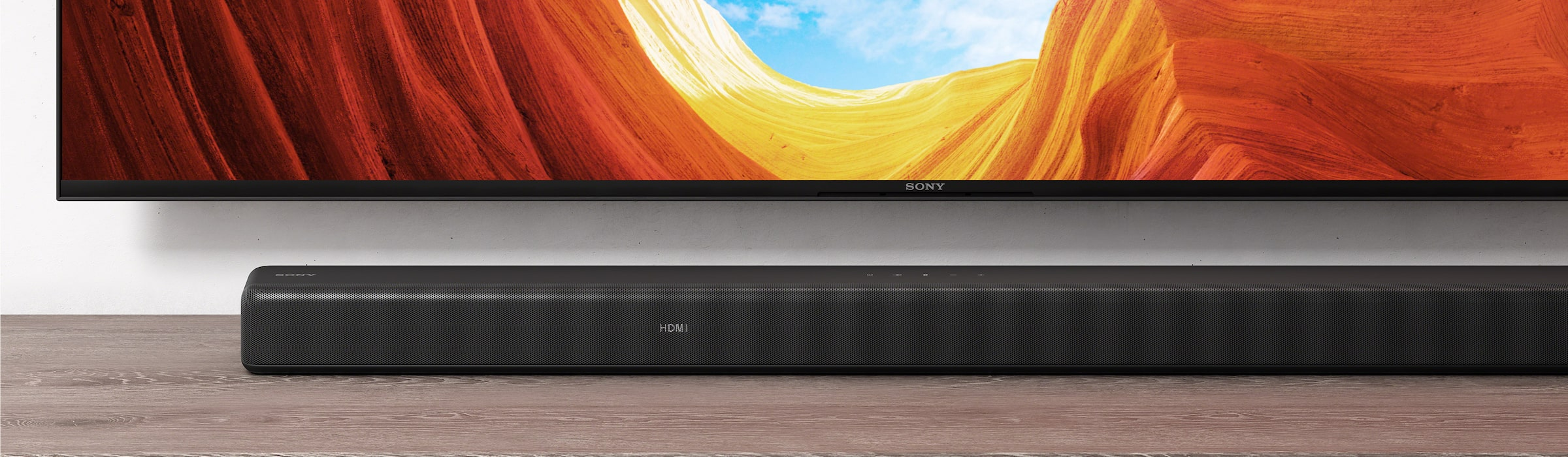 HT-G700 sound bar with Sony Bravia TV